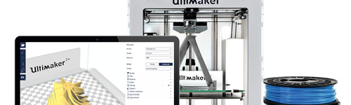 Ultimaker 3D Printing, accessories and Materials