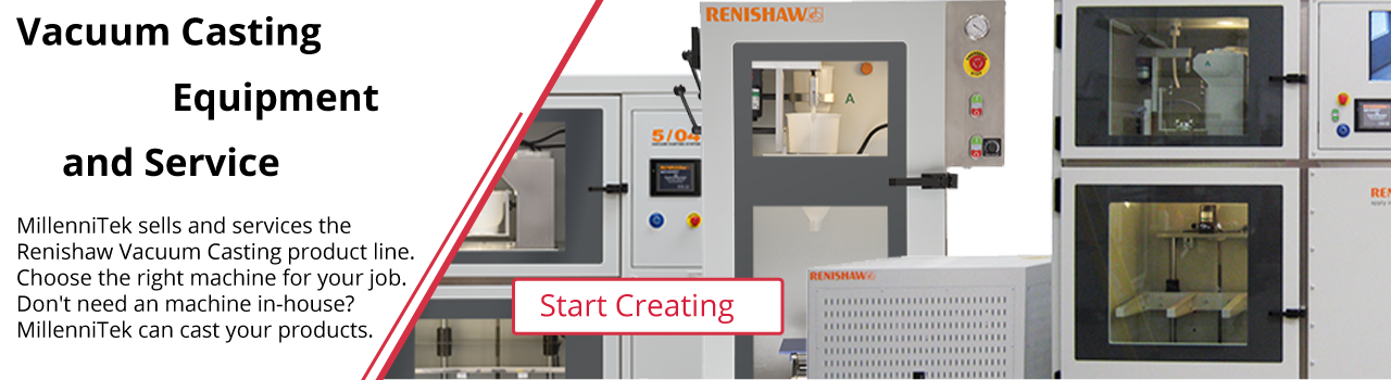 Vacuum Casting Equipment and Service from Renishaw and Genlab